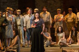 Live from the Met in New York. Carmen