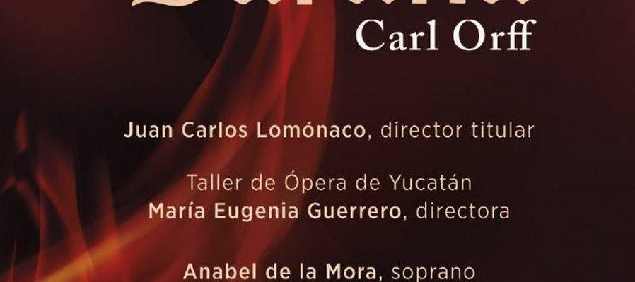 Carmina Burana por la Orquesta Sinfónica de Yucatán