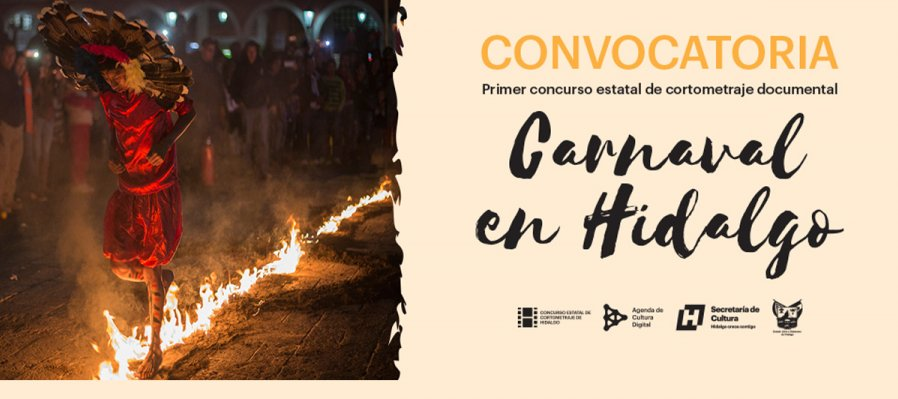 Primer concurso estatal de cortometraje documental: Carnaval en Hidalgo