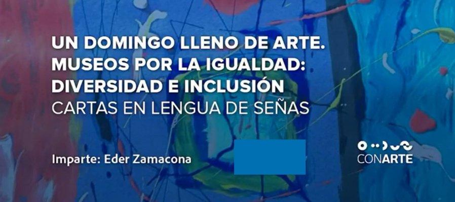 Un domingo lleno de arte: cartas en Lenguaje de Señas