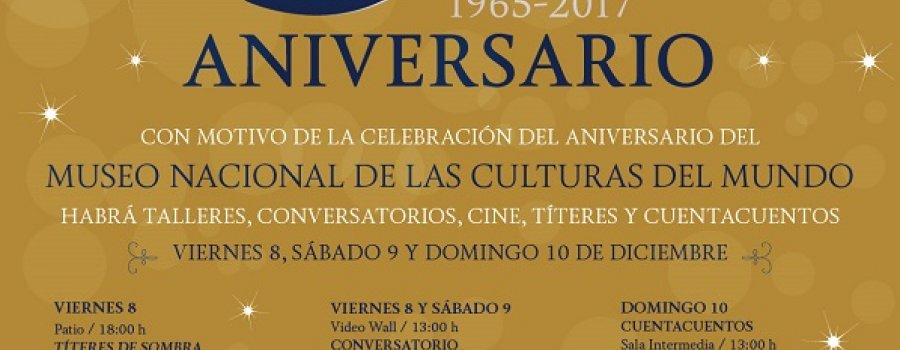 52nd Anniversary of the Museum of the Cultures of the World