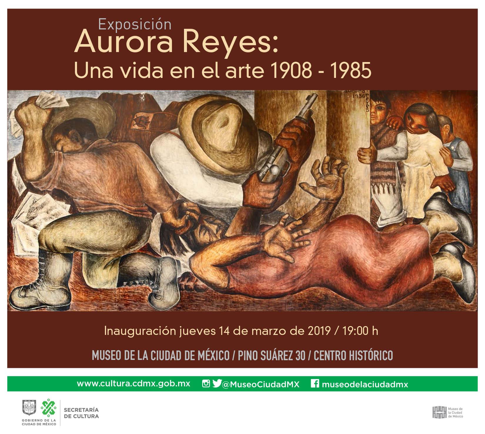 Inauguración: Aurora Reyes: Una vida en el arte 1908 - 1985