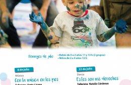 Amiguitos de Garro: Talleres para primera infancia en jul...