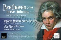 Curso de apreciación musical: Beethoven y sus nueve sinf...