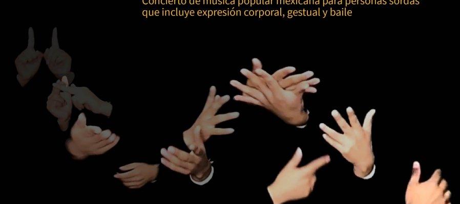 Concierto en Lengua de Señas Mexicanas