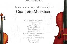 Cuarteto Maestoso en el MAC