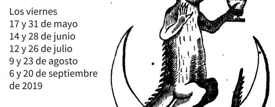 Club de lectura nocturno en el Museo de la Ciudad de México