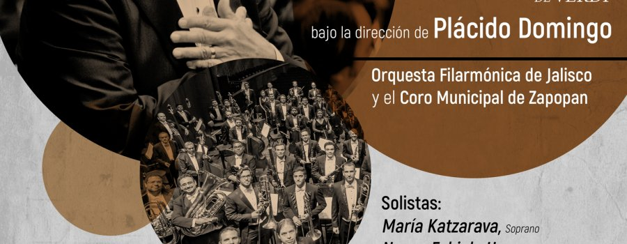 Plácido Domingo dirige a la OFJ con Requiém de Verdi