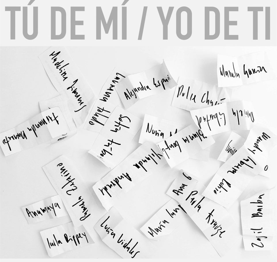 Tú de mí, yo de ti