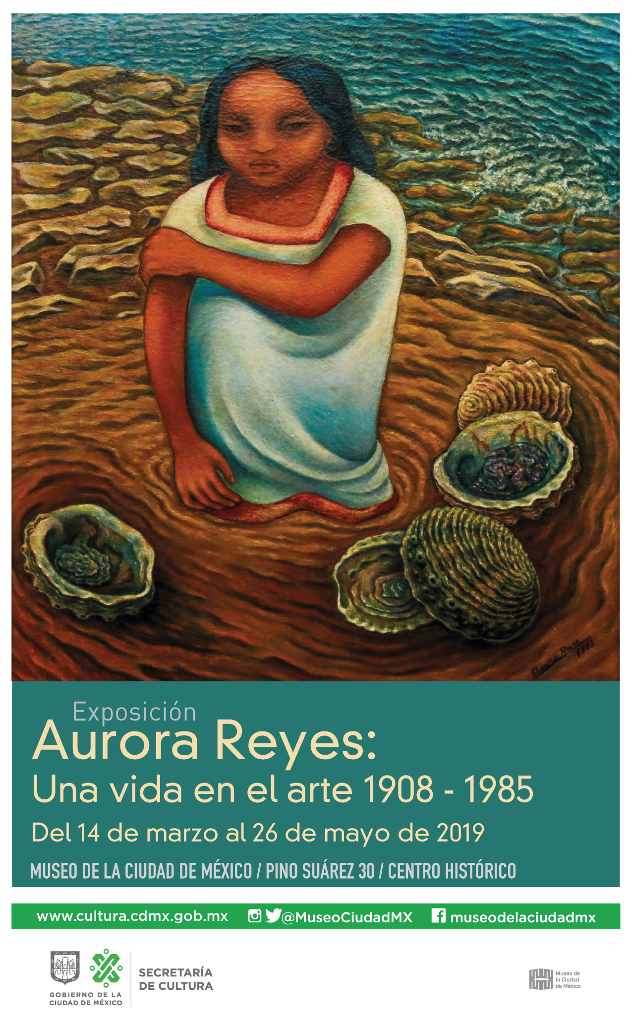 Aurora Reyes: Una vida en el arte 1908 - 1985