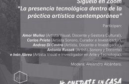 La presencia tecnológica dentro de la práctica artísti...
