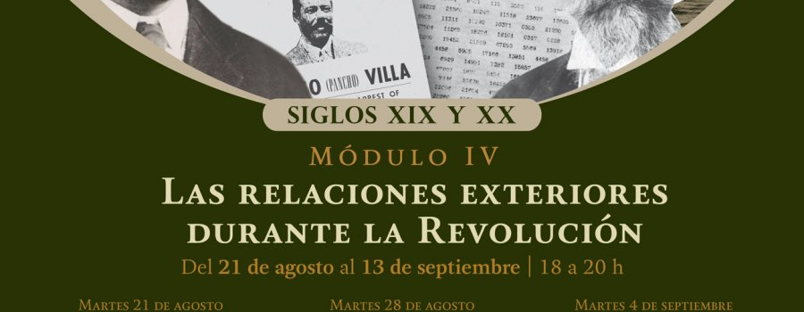Curso Historia diplomática de México. Siglos XIX y XX