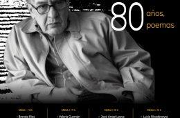José Emilio Pacheco 80 años, 80 poemas