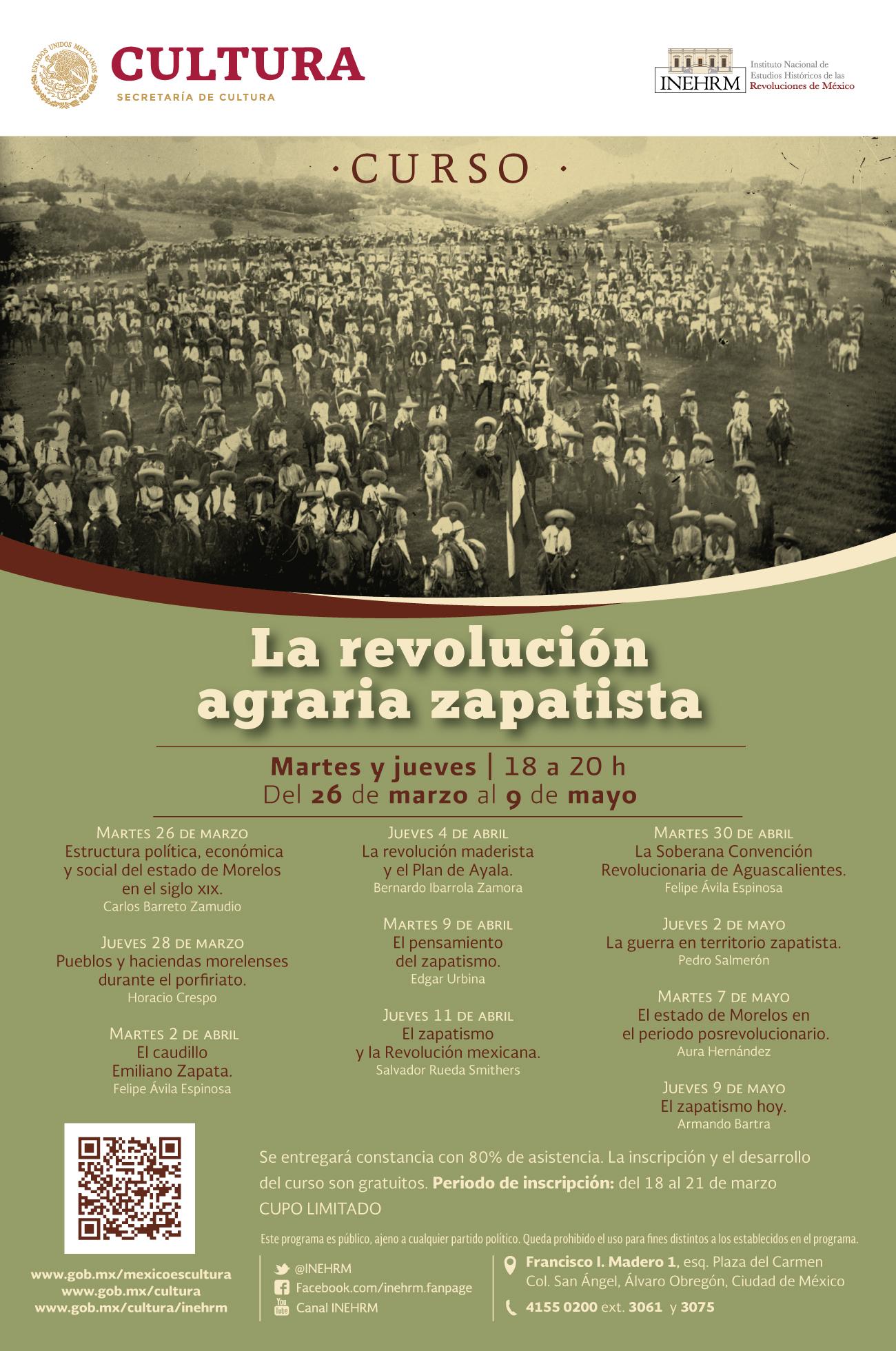 La Revolución agraria zapatista