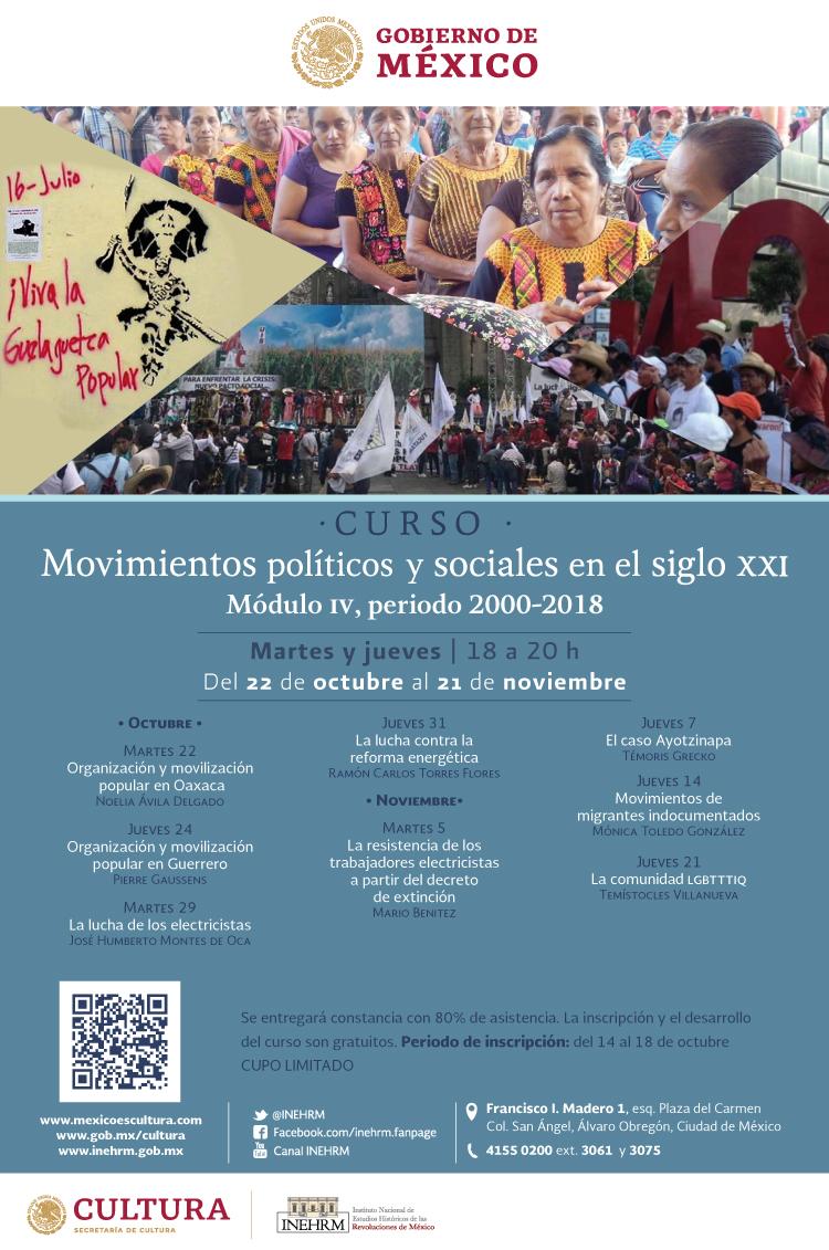 Movimientos políticos y sociales en el siglo XXI. Módulo IV, periodo 2000-2018