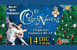El Cascanueces con Ballet ruso Voronezh y la Orquesta Sin...