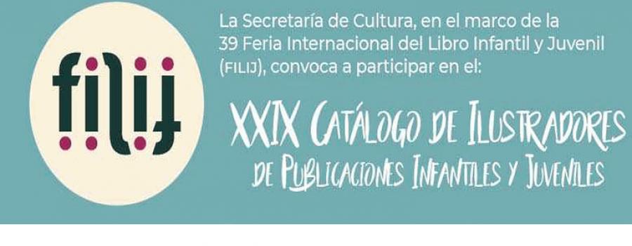 XXIX Catálogo Ilustradores de Publicaciones Infantiles y Juveniles