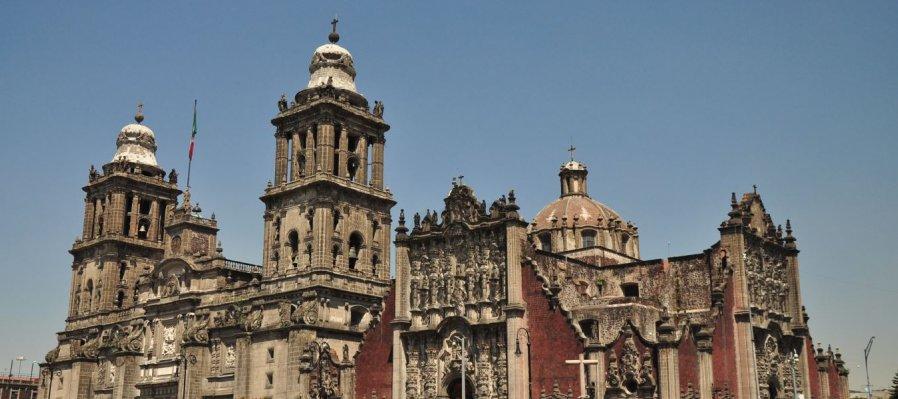 Escenas de la conquista. Centro Histórico, Ciudad de México