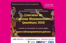 Concurso de Catrinas Monumentales Querétaro 2019