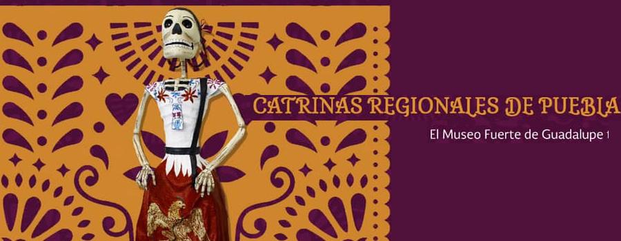 Catrinas regionales de Puebla