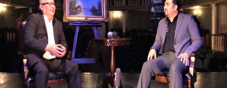 A Telón Abierto con Carlos Juárez. Entrevista a Carlos Cazares