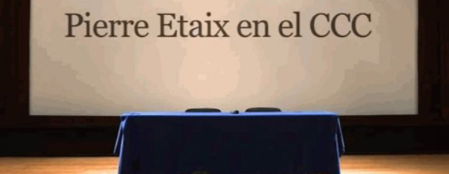 Conferencia del actor y director Pierre Etaix (Francia)