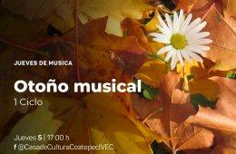 Jueves de música: ciclo otoño musical