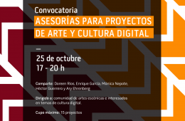 Consultancy for Digital Art and Culture Projects
