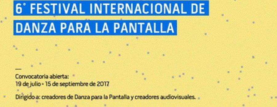 6° Festival internacional de danza para la pantalla