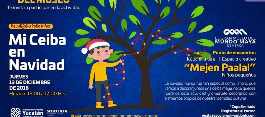 Mi Ceiba en Navidad