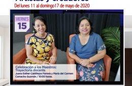 Celebración a los maestros: Trayectoria docente