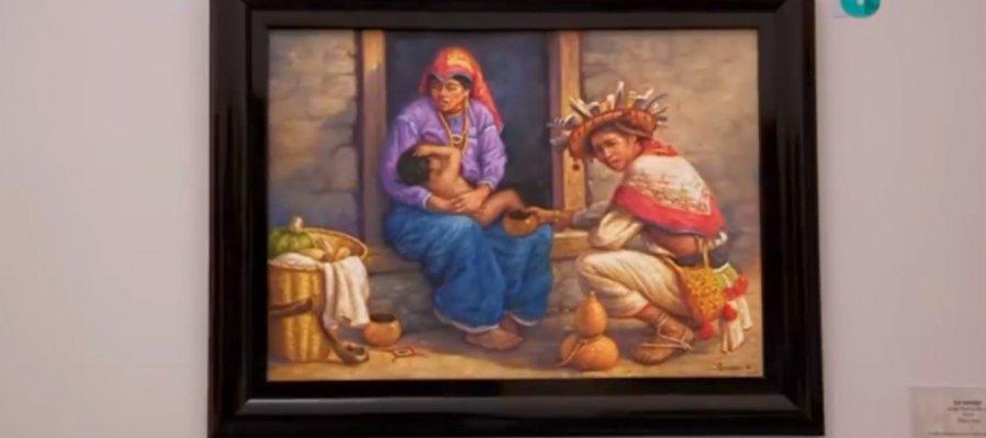Recorrido por las salas de exposición del Centro de Arte Contemporáneo Emilia Ortiz