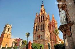 San Miguel de Allende y Atotonilco. Guanajuato