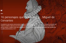 Recorrido virtual por la azarosa vida de Miguel de Cervan...