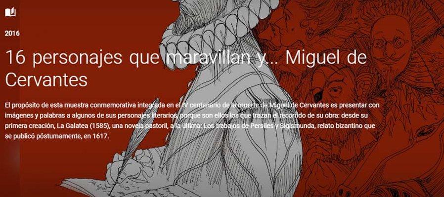 Recorrido virtual por la azarosa vida de Miguel de Cervantes