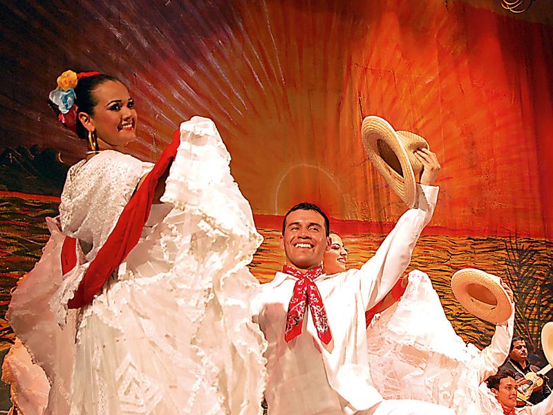 Conjunto folklórico Magisterial de Chiapas