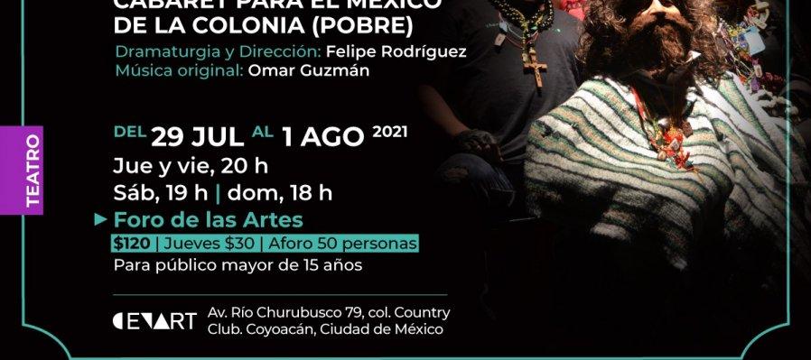 La vida en chaka, ópera postneobarroca cabaret para el México de la colonia (pobre)