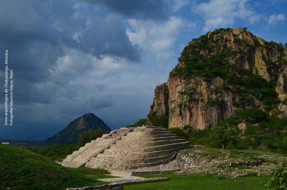 Zona arqueológica de Chalcatzingo. Morelos