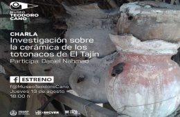 Charla: Investigación sobre la cerámica de los totonaco...