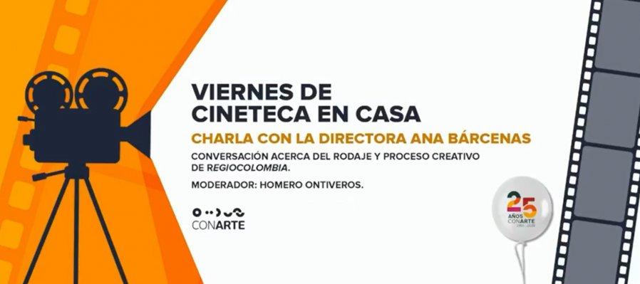 Charla con la directora Ana Bárcenas