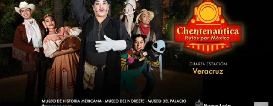Chentenáutica. Rutas por México. Cuarta estación: Veracruz