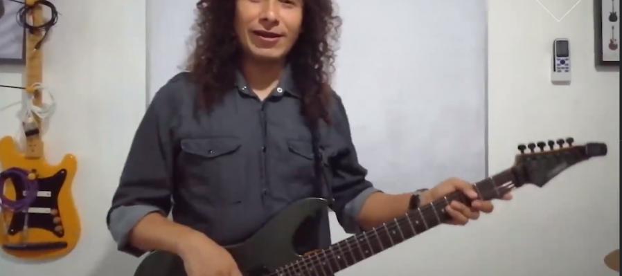 Aprendiendo Guitarra desde casa