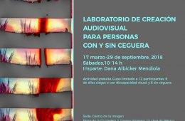 Laboratorio de creación audiovisual para personas con y ...