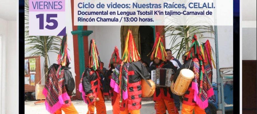 Documental en lengua tsotsil. Carnaval de Rincón Chamula
