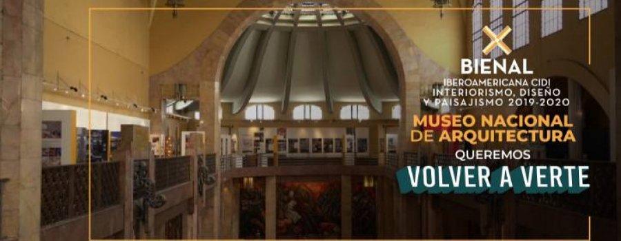 X Bienal Iberoamericana CIDI  de Interiorismo, Diseño  y Paisajismo 2019–2020