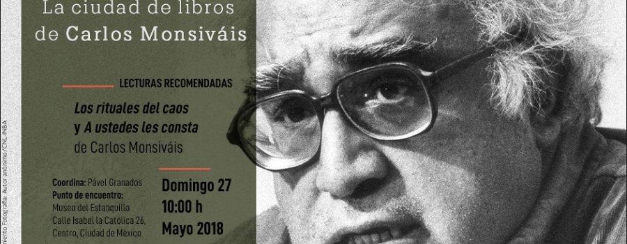 La ciudad de libros de Carlos Monsiváis