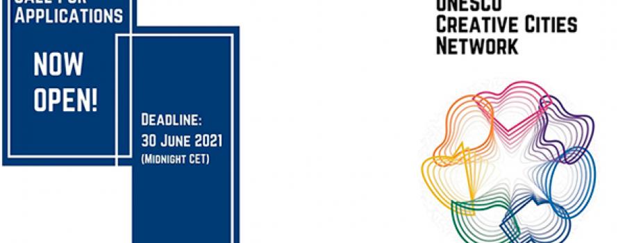 Convocatoria 2021 de aplicaciones para la red de ciudades creativas de la UNESCO (UCCN)