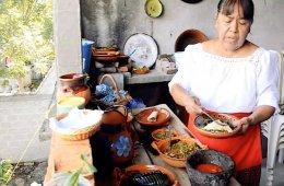 Cocina tradicional: Salsa de cacahuate