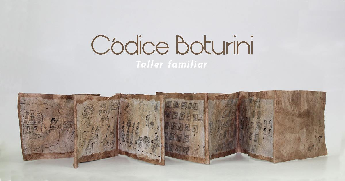 Taller familiar: Códice Boturini
