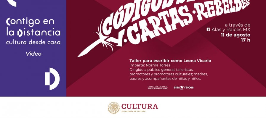 Códigos secretos y cartas rebeldes: taller para escribir como Leona Vicario